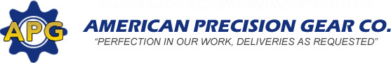 American Precision Gear Co. | Perfection in Our Work, Deliveries As Requested