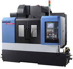 The Doosan 400 DNM II with ATX 5 axis capability