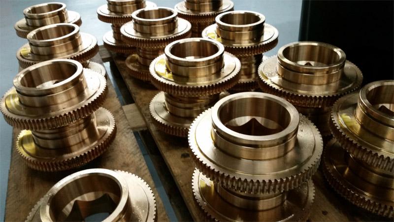 Oil gas worm gears american precision gear co for Gear company of america